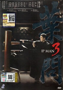 DVD CHINESE LIVE ACTION MOVIE IP Man 3 English Subtitle Region All + Free Ship