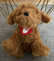 WAFFLE THE WONDER DOG CBEEBIES TALKING SOFT TOY APPROX 10""