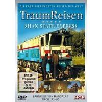 TRAUMREISEN - SHAN STATE EXPRESS DVD DOKUMENTATION REISE NEU