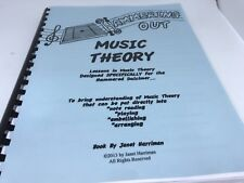 Hammering Out Music Theory - Lessons for the Hammered Dulcimer by Janet Harriman