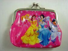 Princess Belle Aurora Kids Girls Children Coins Purse Money Pouch Bag + Pendant