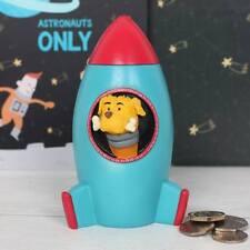 Rocket Ship Money Box, New in Box