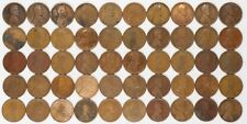 1912 LINCOLN WHEAT CENT PENNY 1C CULLS 50 COINS PHILADELPHIA