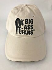 BIG ASS FANS Baseball Cap Black Donkey Adjustable One Size Fits Most