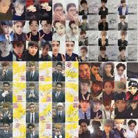 2PCS KPOP EXO Lomo Card Sehun Chanyeol KAI Baekhyun Suho Chen PVC Card Xmas Gift