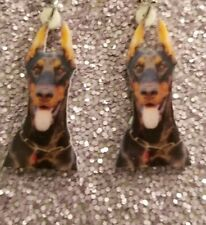 Doberman Pinscher design 2 lightweight earrings jewelry Free Ship mydogsocks