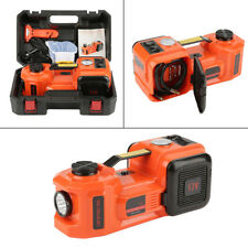 New 3 Function 5T 36CM Lift Car Electric Jack Impact Wrench & Air compressor Set