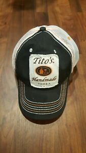 Tito's Handmade Vodka Truckers Hat Baseball Cap Adjustable, Mesh Back New