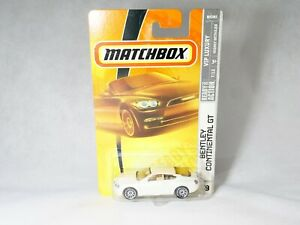 Matchbox Vip Luxury N°39 Bentley Continental Gt 1:64 New IN Blister