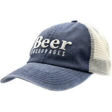 Grunt Style Beer Encourages Mesh Hat - Blue
