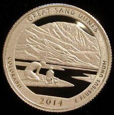 2014-S America The Beautiful Washington Quarter Great Sand Dunes Proof