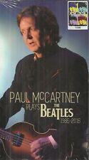 PAUL McCARTNEY PLAYS THE BEATLES 1986-2016 COFFRET 4CD
