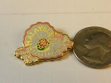 MALAYSIA ROSE PARDE 1993 TRAVEL PIN