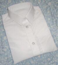 "Boy's ""TU"" Non Iron Short Sleeve School Shirt 3 Years Height 98cm Chest 54cm"
