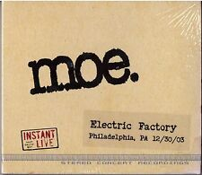 MOE. Instant Live – Electric Factory, Philadelphia PA 12/30/03 3-CD Set SEALED