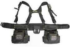 Suspender Tool Belt Rig 20-Pocket Builder's Magnetic Storage Work Heavy Duty New
