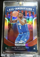 Zion Williamson RED PANINI PRIZM REFRACTOR ROOKIE DRAFT PICKS ALL AMERICANS RC!