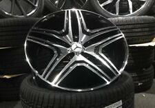 """22"""" Mercedes AMG Style alloy wheels & 285/35/22 tyres For Mercedes ML GL"""