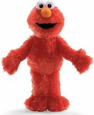 "Sesame Street Elmo Stuffed Plush Doll Licensed Jumbo Large Kids Toy Gift 19"" NEW"