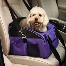 Auto KFZ Hundetasche Katzen Hundetragetasche für Autositz Hundesitz Lila SB-1