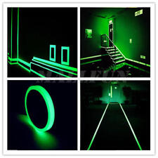 1M Luminous Tape Self-adhesive Glow Dark Safety Stage Home Party Decor Hot Sale