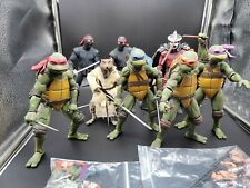 NECA Teenage Mutant Ninja Turtles TMNT Gamestop Exclusive Set ALL 8 FIGURES
