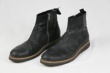 Silent Damir Doma Mens Black Leather Ankle Boots Size EU 45 US 12 $525