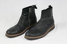 Silent Damir Doma Mens Black Leather Ankle Boots Size EU 45 US 11 $525