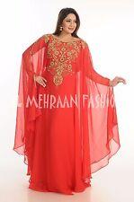 EXCLUSIVE  FARASHA FANCY JILBAB ARABIAN DUBAI ABAYA WEDDING GOWN DRESS  518