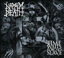 Napalm Death Time Waits for No Slave CD Digipak Stomp Australia Century Media