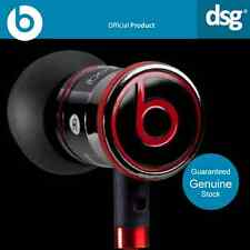100% Genuine Monster Beats by Dr Dre iBeats In Ear Nero Cuffie Auricolari