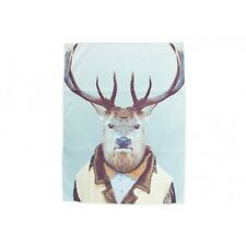 Zoo Portrait - Tea Towel - Elk Micro Fibre Soft and Luxurious