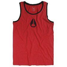 Nixon Wings Tank (S) Red Heather / Black S10801304-02