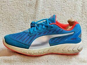 Puma Ignite mens trainers Blue/White/Orange UK 8.5 EUR 42.5 US 9.5