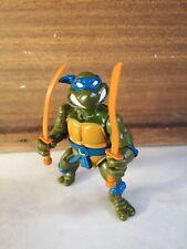 TMNT Teenage Mutant Ninja Turtle 1990 Playmates Storage Shell Leonardo Tortue
