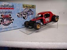 1/25 #76 Chamberlain Ertl Nutmeg Dirt Modified Coupe