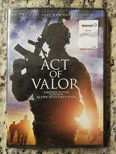 Act of Valor Movie Active Duty Navy Seals 2012 *BRAND NEW FACTORY SEALED DVD*