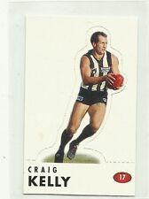 1996 AFL SELECT COLLINGWOOD CRAIG KELLY # 17 POP UP CARD