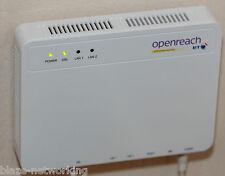 BT Openreach ECI Fibre Optic Modem Router Type 1B VDSL FTTC Free Postage