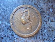 belle medaille jeton congo  belge union miniere du haut katanga