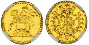 1700 Germany Nurnberg Gold 1/8 Ducat NGC MS 65