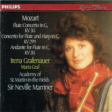 Mozart Flute Concerto in G, KV 313 Irena Grafenauer Neville Marriner Maria Graf