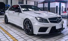 "Mercedes ""Black"" Wide Body Kit C204 W204 (saloon/sedan) for C250 C350 C63 AMG"