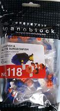 Clownfish & Palette Surgeonfish Nanoblock Miniature Building Blocks Nbc 118