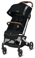 GB Qbit+Plus ALL-CITY FE Compact Lightweight One Hand Fold Travel Stroller Black