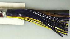 HI SEAS - DIABLO TROLLING LURE - SOFT HEAD - 1 LURE - BLACK / PURPLE / YELLOW