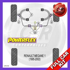 Renault Megane I (95-02) Front Lwr Wbone Camber Bushes Bushes Powerflex Full Kit