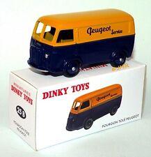 Dinky Toys Atlas - Fourgon tôlé Peugeot Service (Série limitée - Hors commerce)