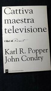 Popper, Condry: Cattiva maestra televisione  Donzelli Reset, 1994