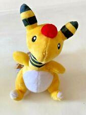 "Pokemon Center Japan - Ampharos 6"" Pokemon Fit Soft Plush Beanie Toy - Brand New"